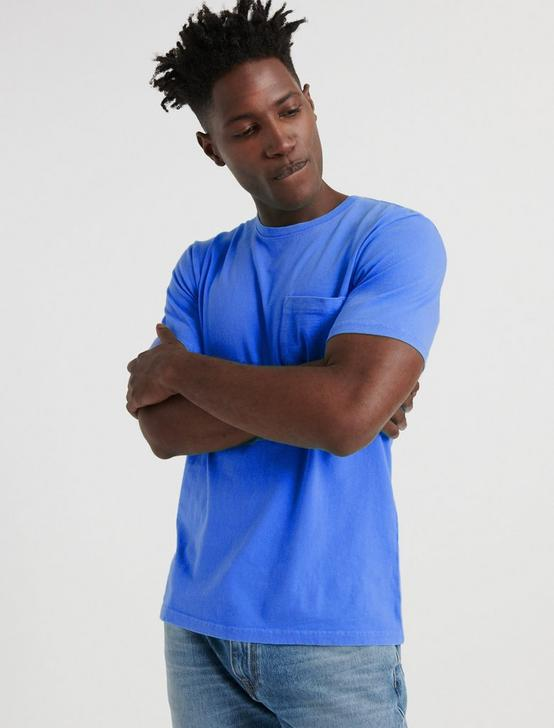 SUNSET POCKET TEE, CLASSIC BLUE, productTileDesktop