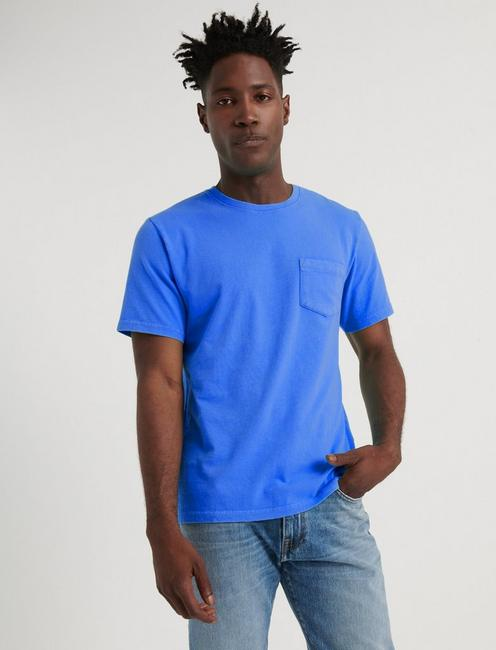 SUNSET POCKET TEE, CLASSIC BLUE