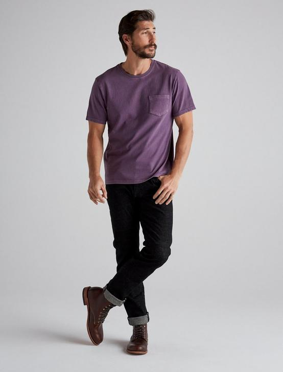 SUNSET POCKET TEE, MAHOGANY, productTileDesktop
