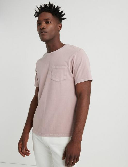 SUNSET POCKET TEE, MAUVE SHADOWS