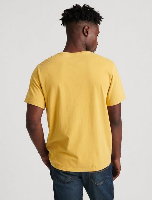 SUNSET POCKET TEE, 752 YELLOW