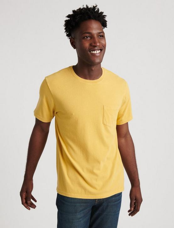 SUNSET POCKET TEE, 752 YELLOW, productTileDesktop