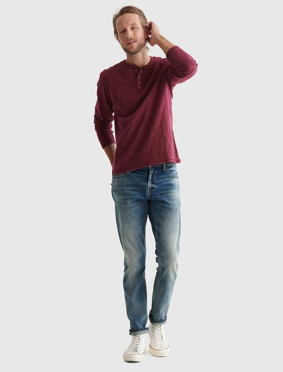 LONG SLEEVE SNAP HENLEY, PORT ROYALE, productTileDesktop
