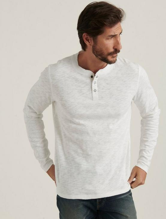 LONG SLEEVE HENLEY, BRIGHT WHITE, productTileDesktop