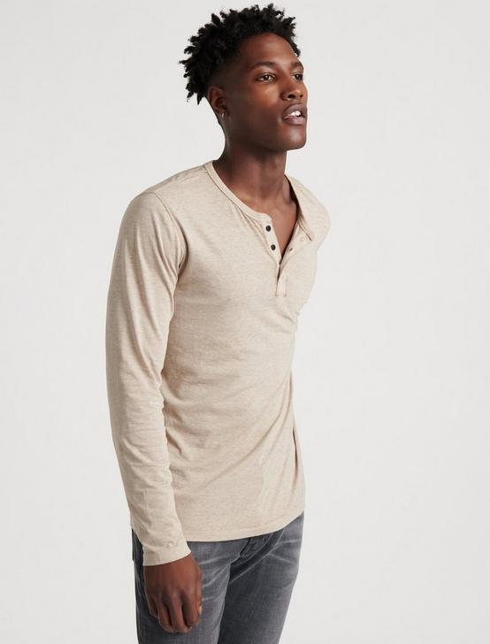 VENICE BURNOUT HENLEY, OATMEAL, productTileDesktop