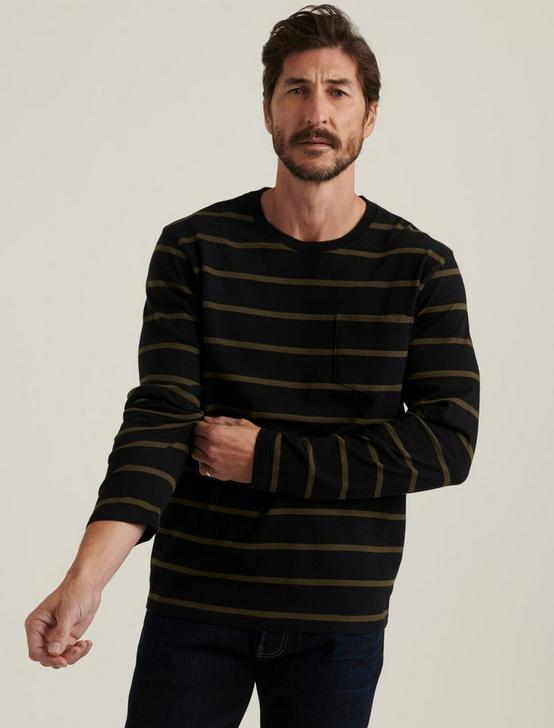 STRIPE POCKET TEE, MULTI, productTileDesktop