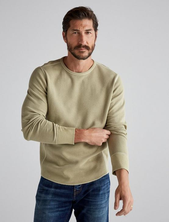 FRENCH RIB LONG SLEEVE CREW NECK, TWILL #16-1108 TCX, productTileDesktop