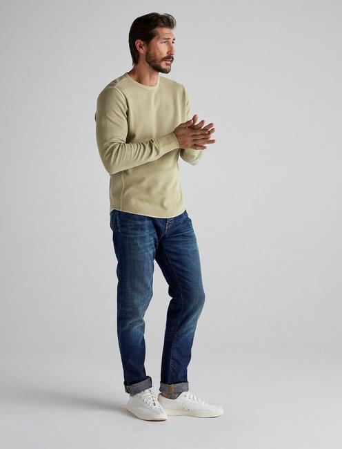 FRENCH RIB LONG SLEEVE CREW NECK, TWILL #16-1108 TCX