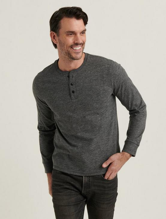 HIGH TWIST HENLEY, CHARCOAL, productTileDesktop