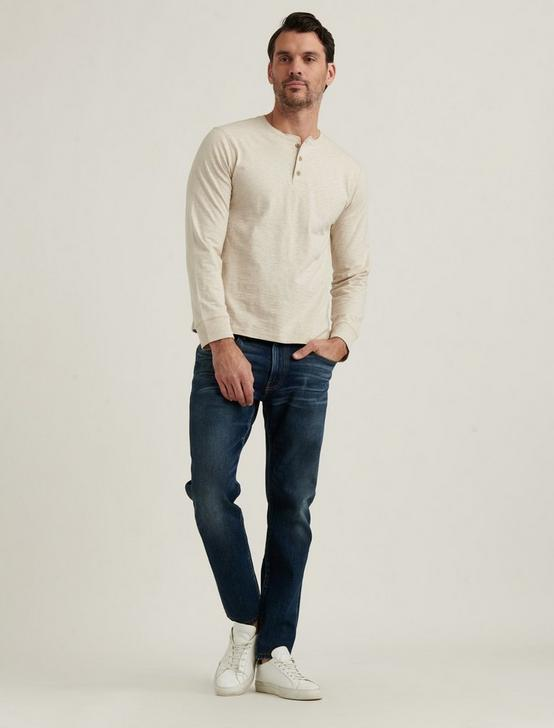 HIGH TWIST HENLEY, OATMEAL, productTileDesktop