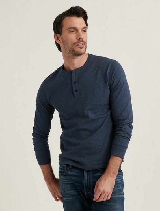 HIGH TWIST HENLEY, NAVY, productTileDesktop