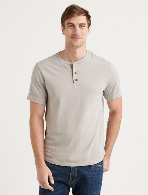 PIMA COTTON HENLEY,