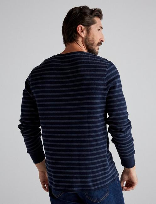 STRIPE THERMAL CREW, MULTI