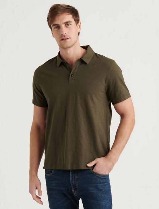HIGH TWIST POLO, FOREST NIGHT, productTileDesktop