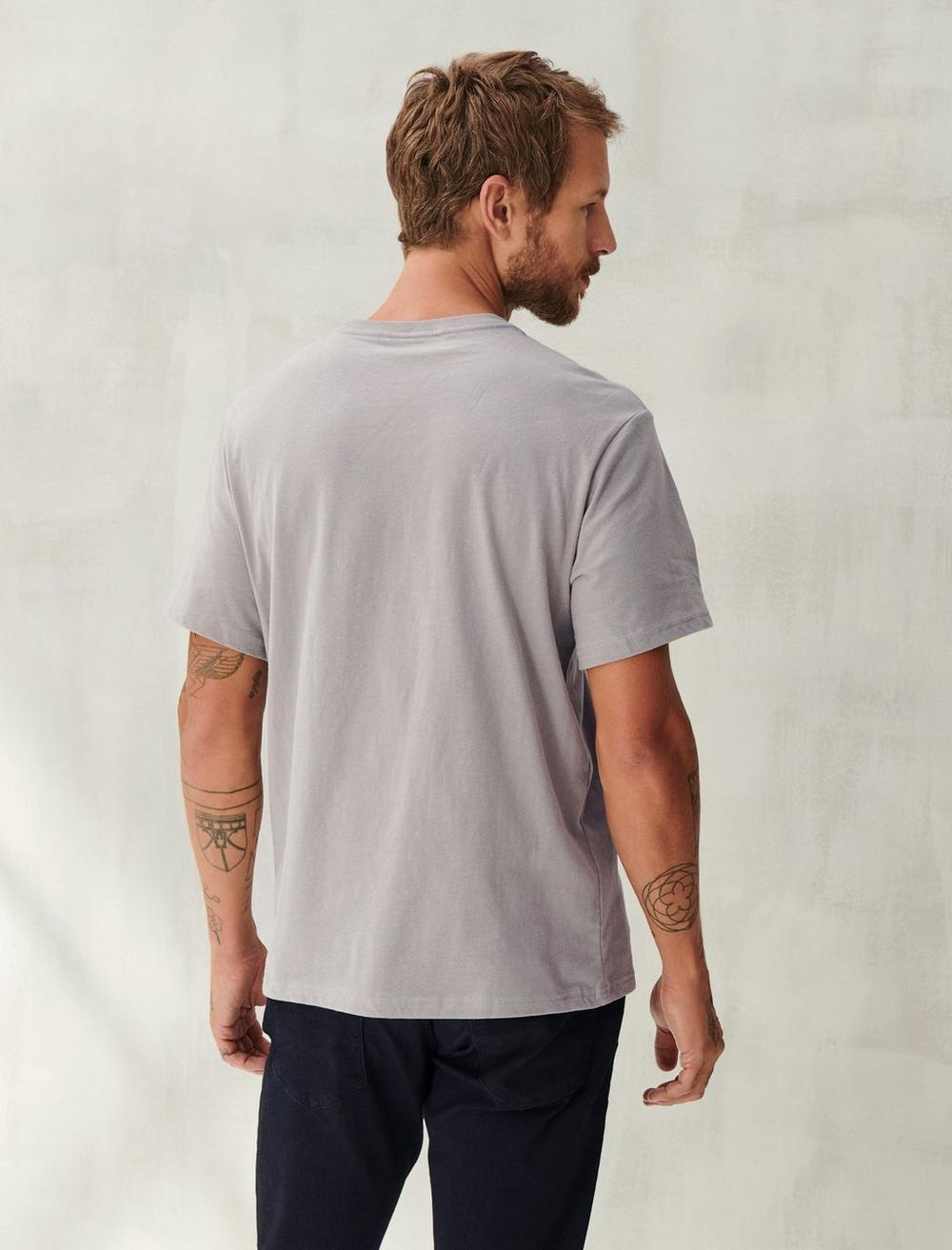 SUEDED JERSEY TEE, image 5