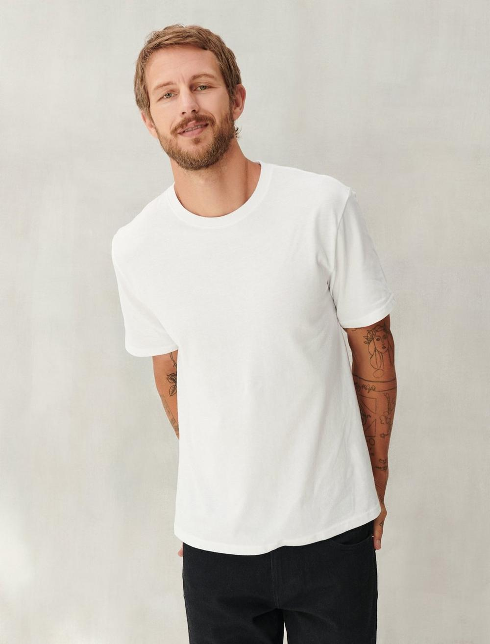 SUEDED JERSEY TEE, image 1