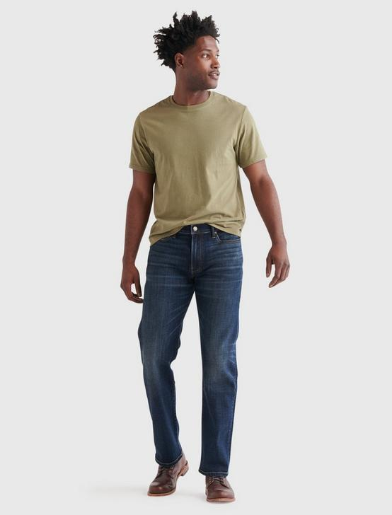 SUEDED JERSEY TEE, BURNT OLIVE, productTileDesktop