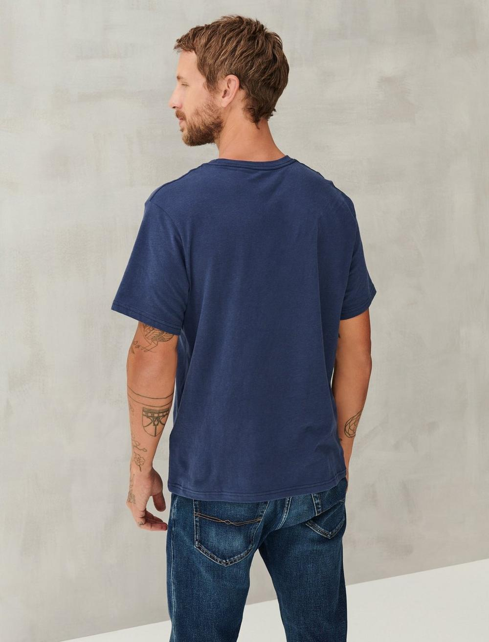 SUEDED JERSEY TEE, image 4