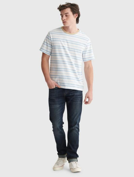 STRIPE JERSEY CREW, MULTI, productTileDesktop