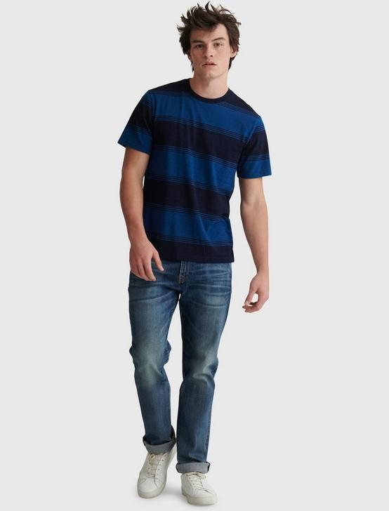 INDIGO STRIPE CREW, MULTI, productTileDesktop