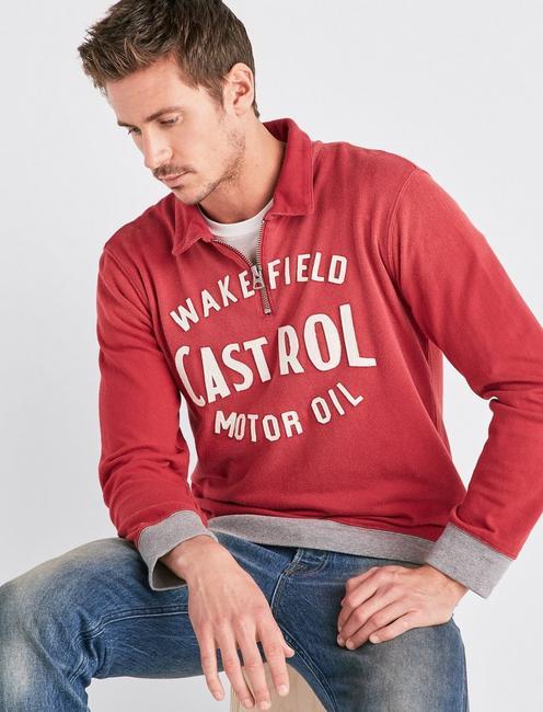 CASTROL ZIP SWEATSHIRT,