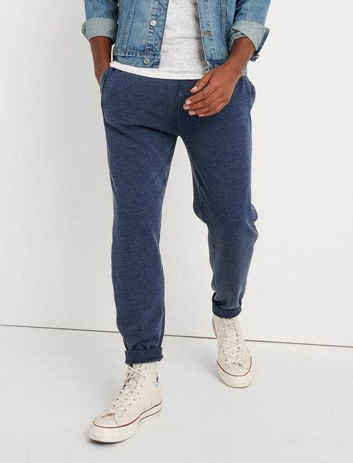 VENICE BURNOUT SWEATPANT, AMERICAN NAVY