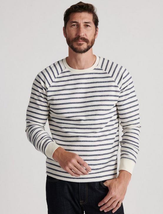 STRIPED RAGLAN CREW, MULTI, productTileDesktop
