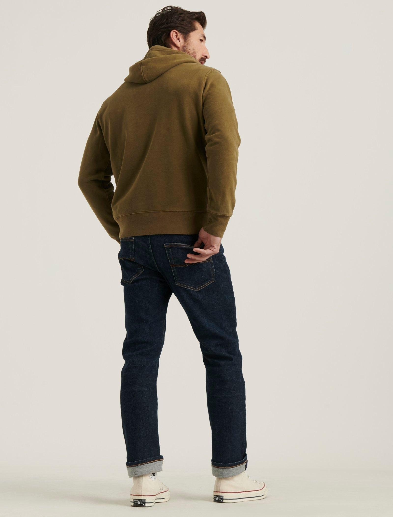 SUEDED FRENCH TERRY HOODIE, image 3