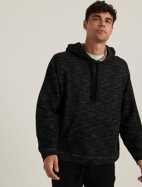 TERRY CALIFORNIA HOODIE, #001 BLACK, productTileDesktop