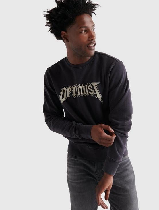OPTIMIST TERRY CREW, JET BLACK, productTileDesktop
