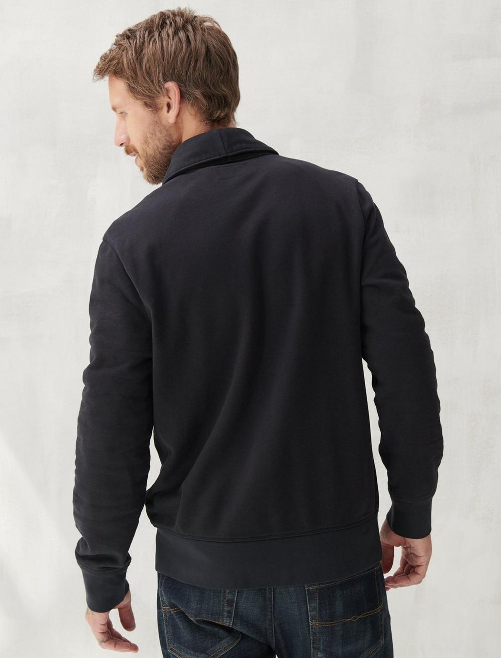 SUEDED TERRY CARDIGAN, image 4