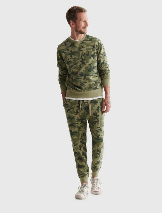 SUEDED TERRY CAMO CREW, CAMO (ARMY COLORS), productTileDesktop