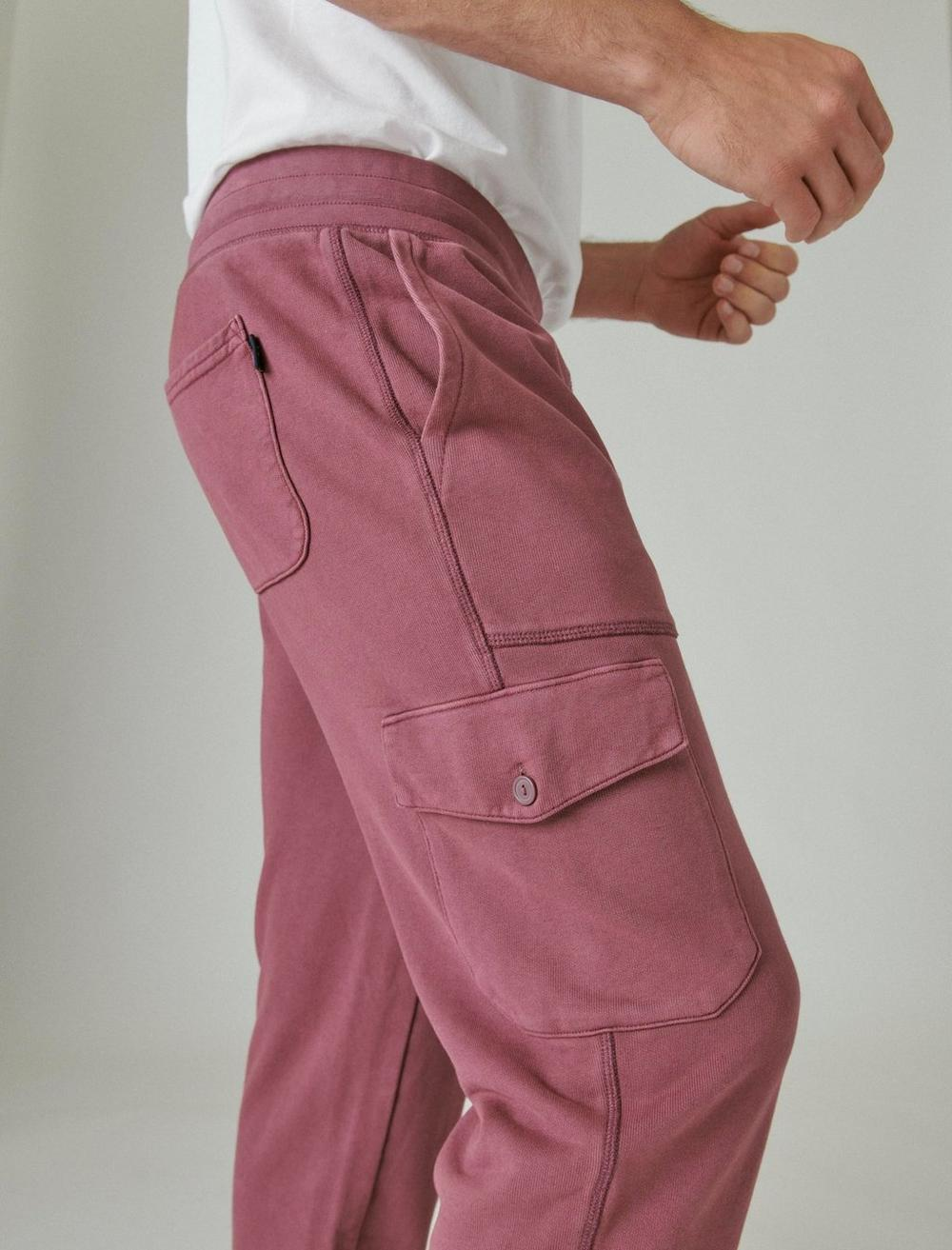 SUEDED TERRY CARGO JOGGER, image 6
