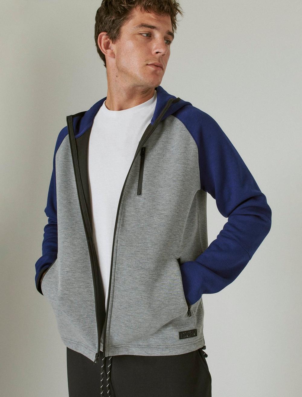 Lucky Brand Men's Breathe Easy Tech Fleece Hoodie