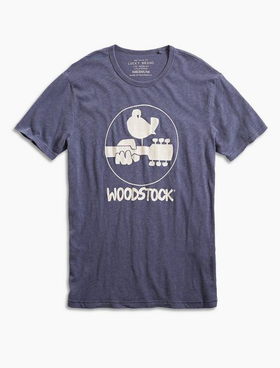 WOODSTOCK LOGO TEE, AMERICAN NAVY, productTileDesktop