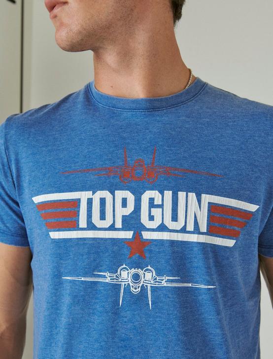 TOP GUN TEE, MONACO BLUE, productTileDesktop