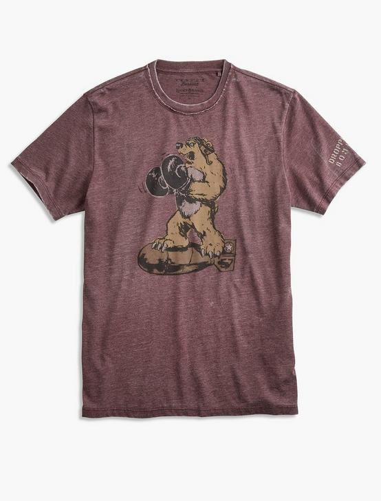 BOMBER BEAR TEE, PORT ROYALE, productTileDesktop