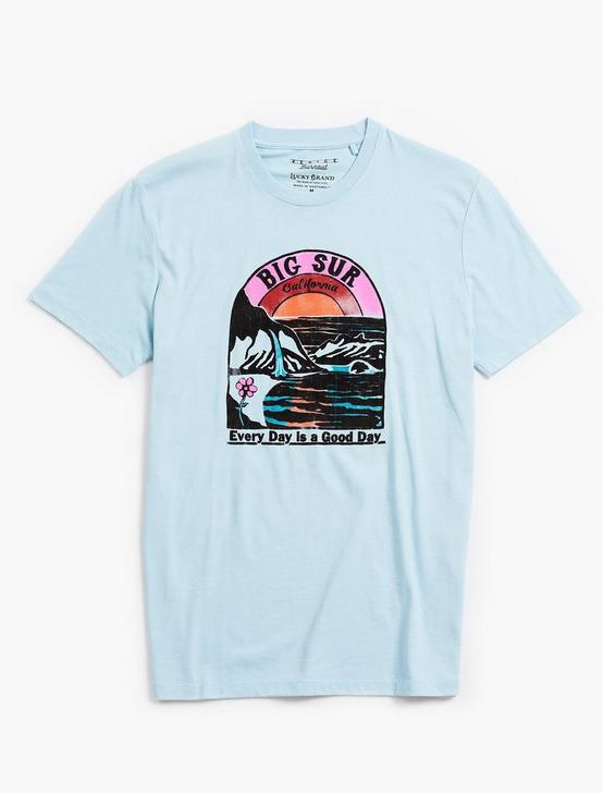 VENICE BURNOUT BIG SUR TEE, SPRING BLUE #4982, productTileDesktop