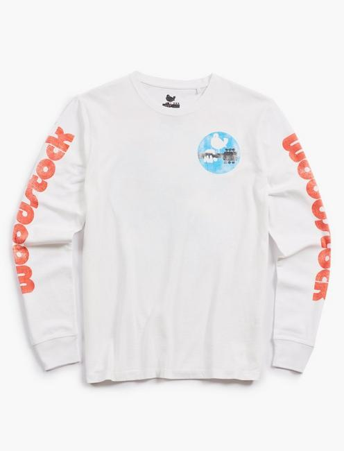 WOODSTOCK LONG SLEEVE TEE,