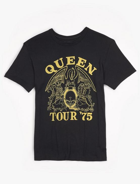 QUEEN TOUR TEE, RAVEN, productTileDesktop