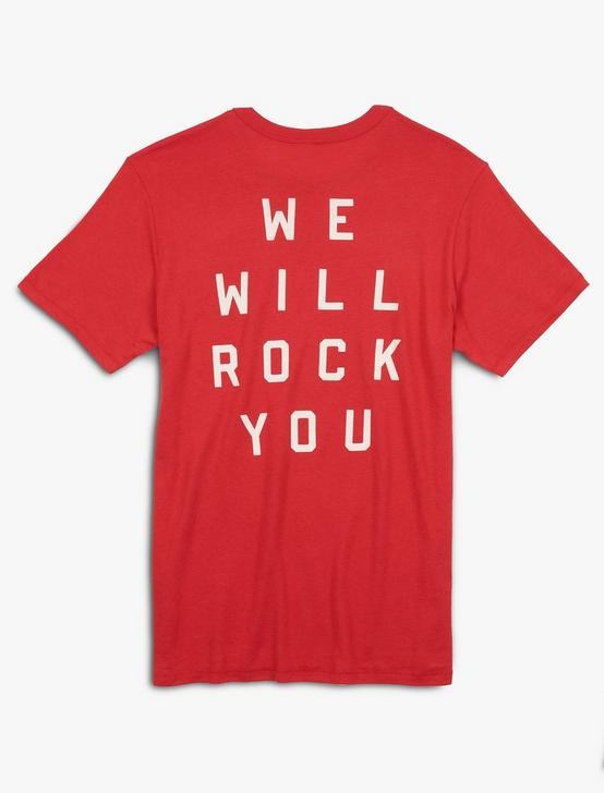 QUEEN ROCK YOU TEE, SCARLET, productTileDesktop