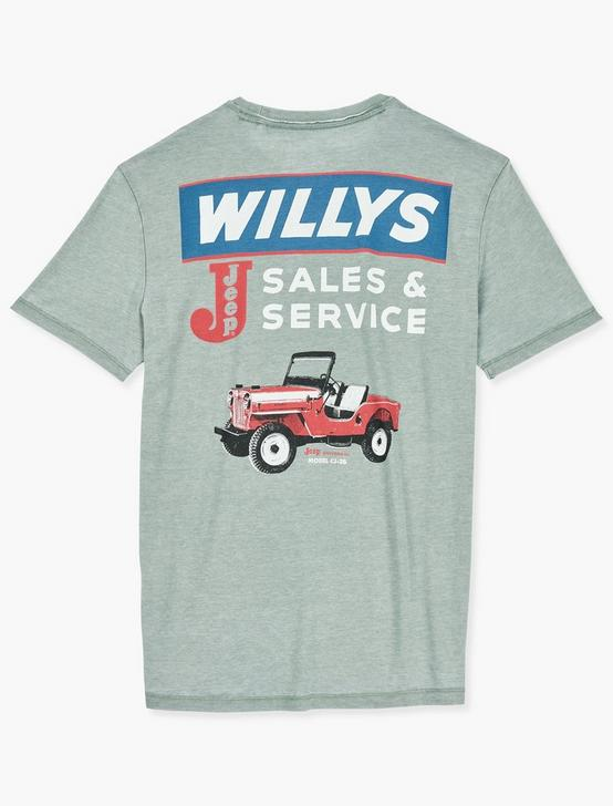 JEEP WILLY SALES TEE, LAUREL WREATH, productTileDesktop