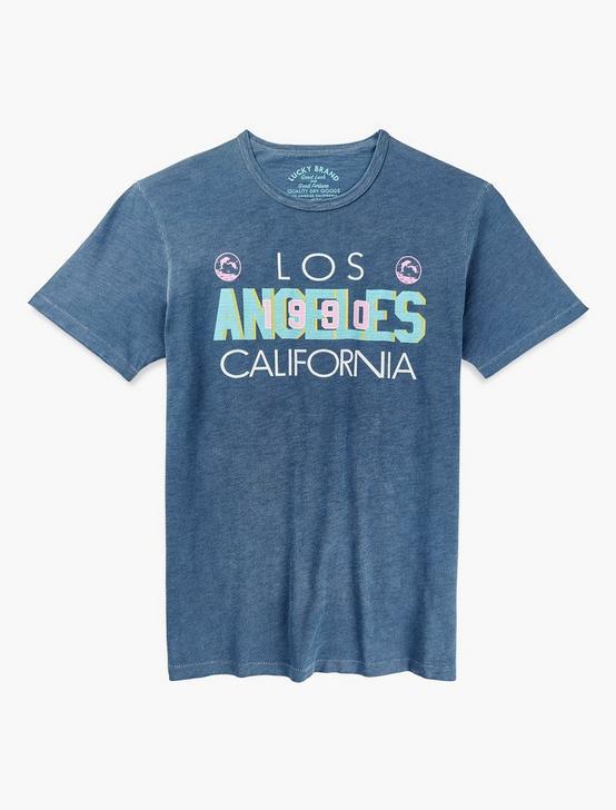 LOS ANGELES 1990 TEE, AMERICAN NAVY, productTileDesktop