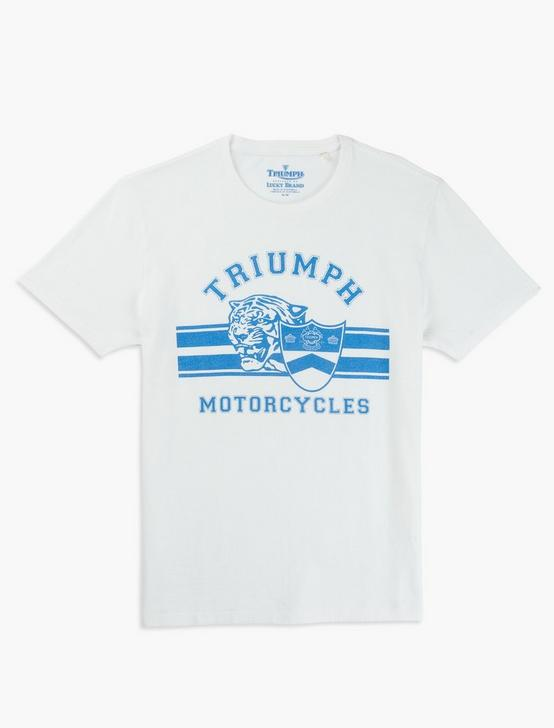 TRIUMPH CYCLES TEE, BRIGHT WHITE, productTileDesktop