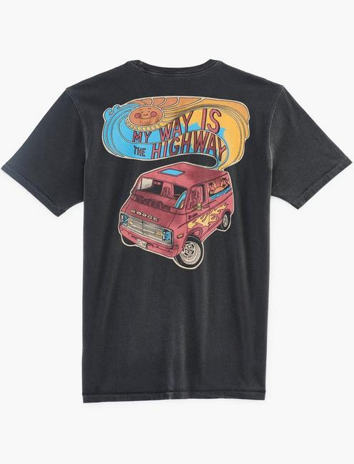 DODGE VAN TEE, JET BLACK