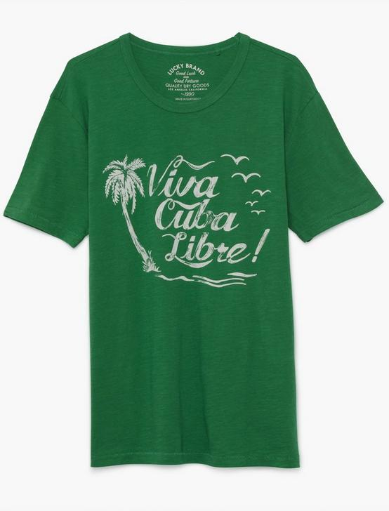 VIVA CUBA LIBRE TEE, FAIRWAY GREEN, productTileDesktop