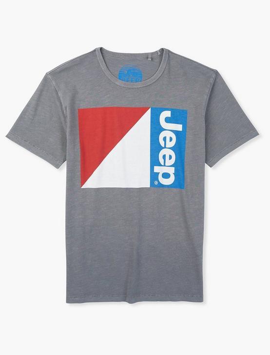 JEEP FLAG TEE, GARGOYLE, productTileDesktop