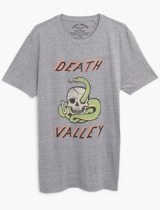 DEATH VALLEY TEE, GREY, productTileDesktop