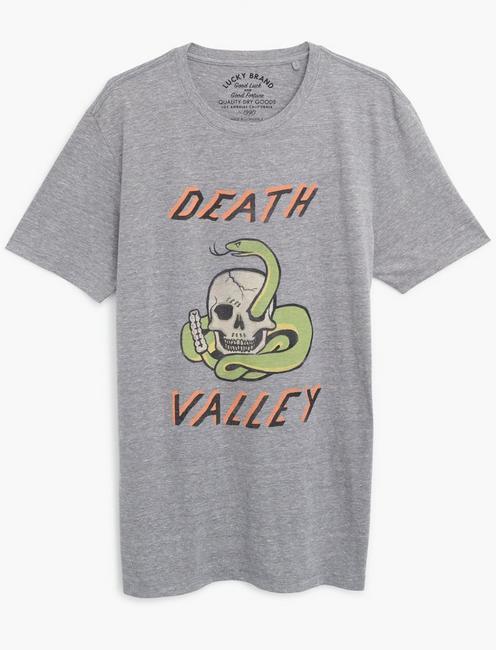DEATH VALLEY TEE, GREY