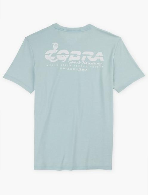 FORD COBRA MUSTANG TEE, SPRING BLUE #4982